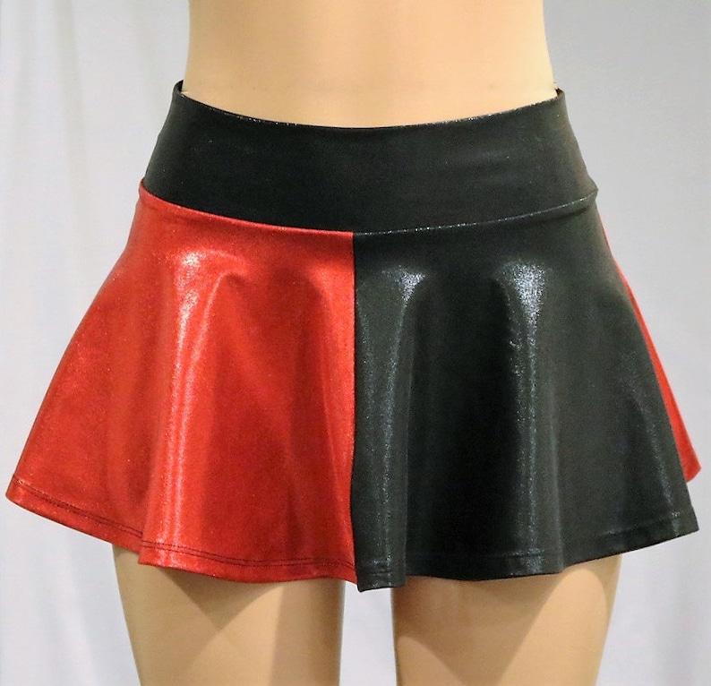 Harley Quinn inspired Skate Skirt