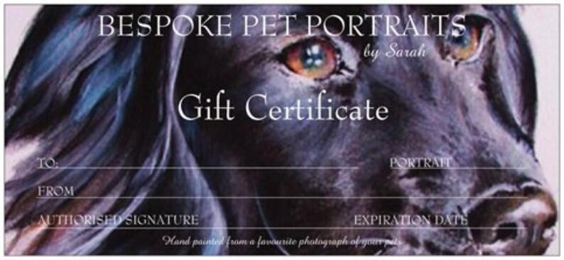 Custom Pet Portrait Original watercolour painted from your image 0