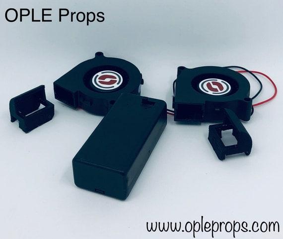 OPLE Props Fan System OPLE Odin Double Fans Helmet & Masks Fans Cooling  Device Costume Mascot Fuirsuit Cosplay