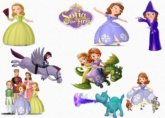 Sofia The First Clipart 47 High Quality Png Images With Etsy