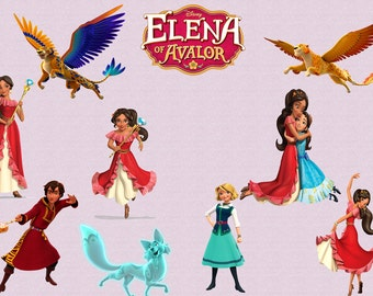 ELENA of AVALOR CLIPART, Clip Art, 22 High Quality Png Images with Transparent Backgrounds, 300 dpi