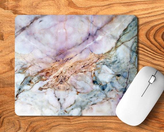 tapis de souris en marbre tapis de souris en marbre pad de etsy. Black Bedroom Furniture Sets. Home Design Ideas