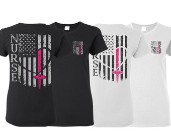 3bc36a2d2c667 Nurse Flag Shirt - Nurse Shirt, Nurse Gift, Nurse Tshirt, Gift For Nurse,  Nurse Life, Nurse T-shirt, Nurse Tee, Nurse Shirts