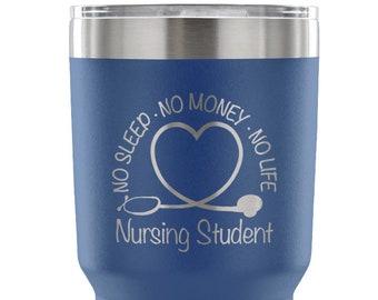 31d72abe7 Nursing Student Gift, Nurse Tumbler, Nurses Week, Nursing School, Nursing  Student Cup, Nurse Student Gift, Student Nurse, Nurse School Cup