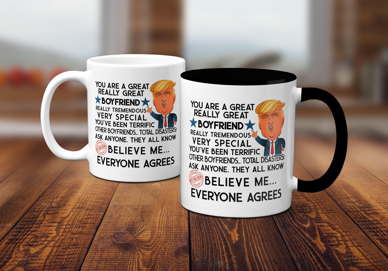 Trump Mug Boyfriend Gift For Him From Girlfriend Donald