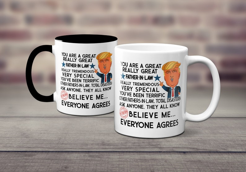 d94278a90f3 Trump Mug Gift Fathers Day Gifts For Men Gifts For Him Gift | Etsy