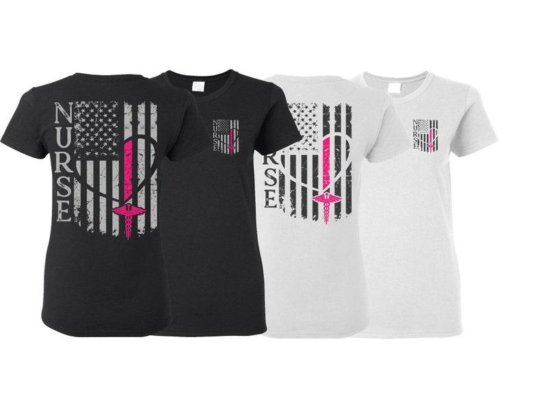 Nurse Flag Shirt Nurse Shirt Nurse Gift Nurse Tshirt Gift  0e110dbd3