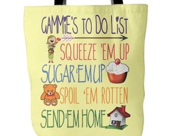 Gammie Tote Bag, Gammie Book Bag, Gammie Gift, Gammie Bag, Gift For Gammie, Gammie Tote, Gammie Tote Bags, Gammie Book Bags, Gammie Gifts