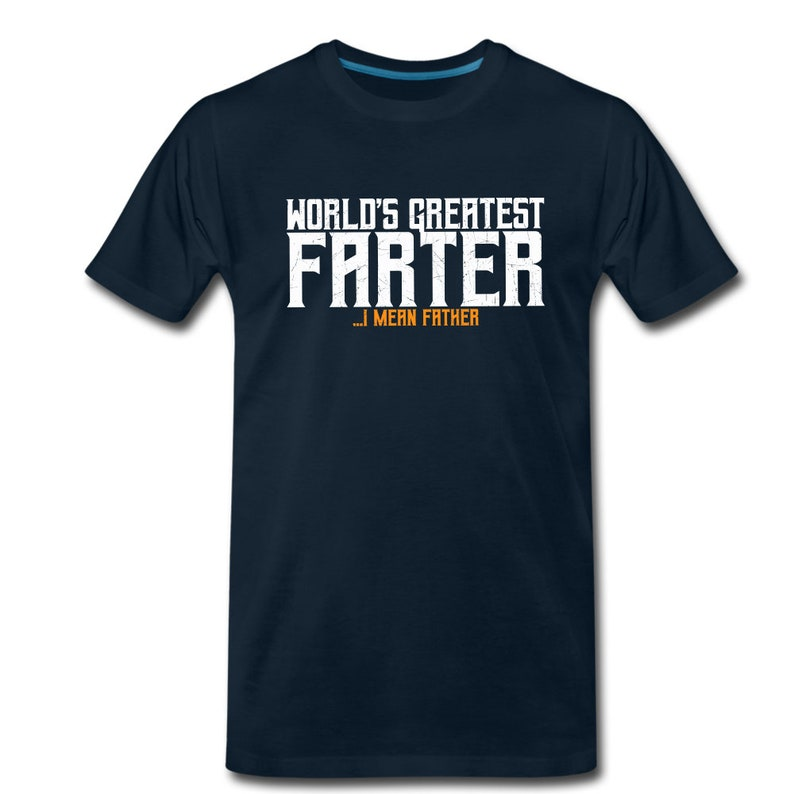 First Fathers Day Shirt Dad Shirt New Dad Shirt New Dad Gift For Husband World/'s Greatest Farter Shirt Fathers Day Gift From Daughter