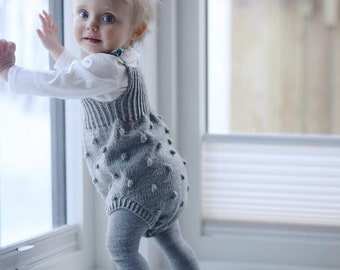 514de82d8 Knit baby romper