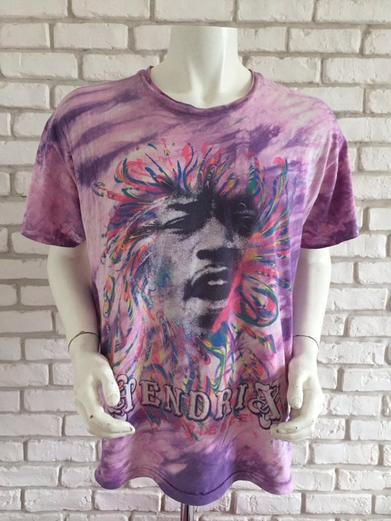 90's vintage Jimi Hendrix shirt tie and dye