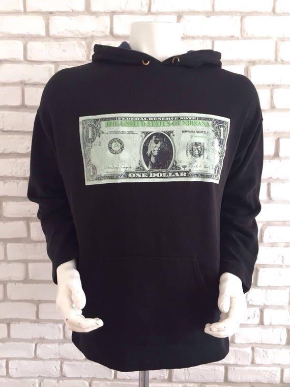 1992 vintage Nirvana nevermind sweatshirt ultra ra
