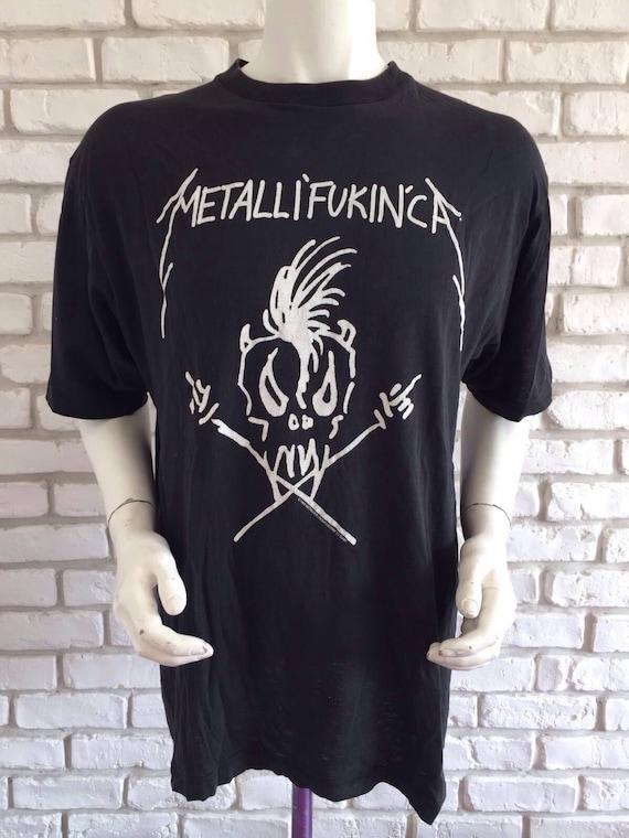 Metallica 1993 vintage metalli'fukin'ca t shirt