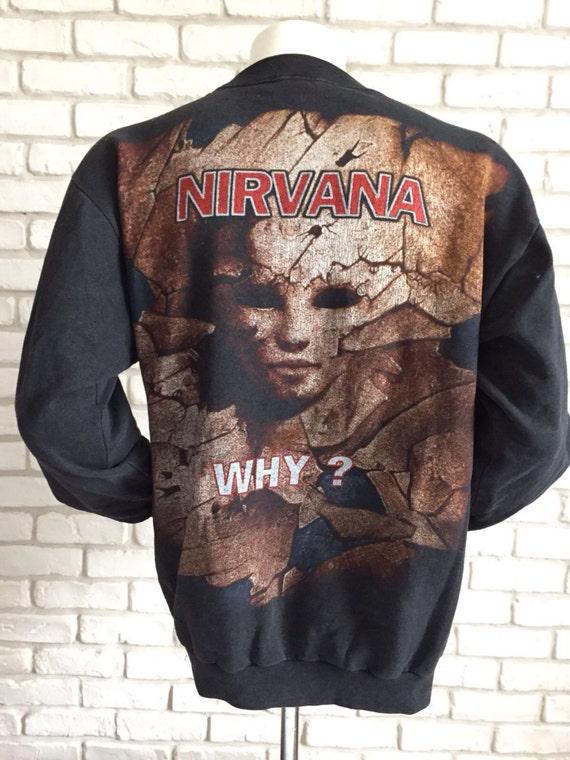 1994 rare vintage Nirvana sweatshirt - image 3