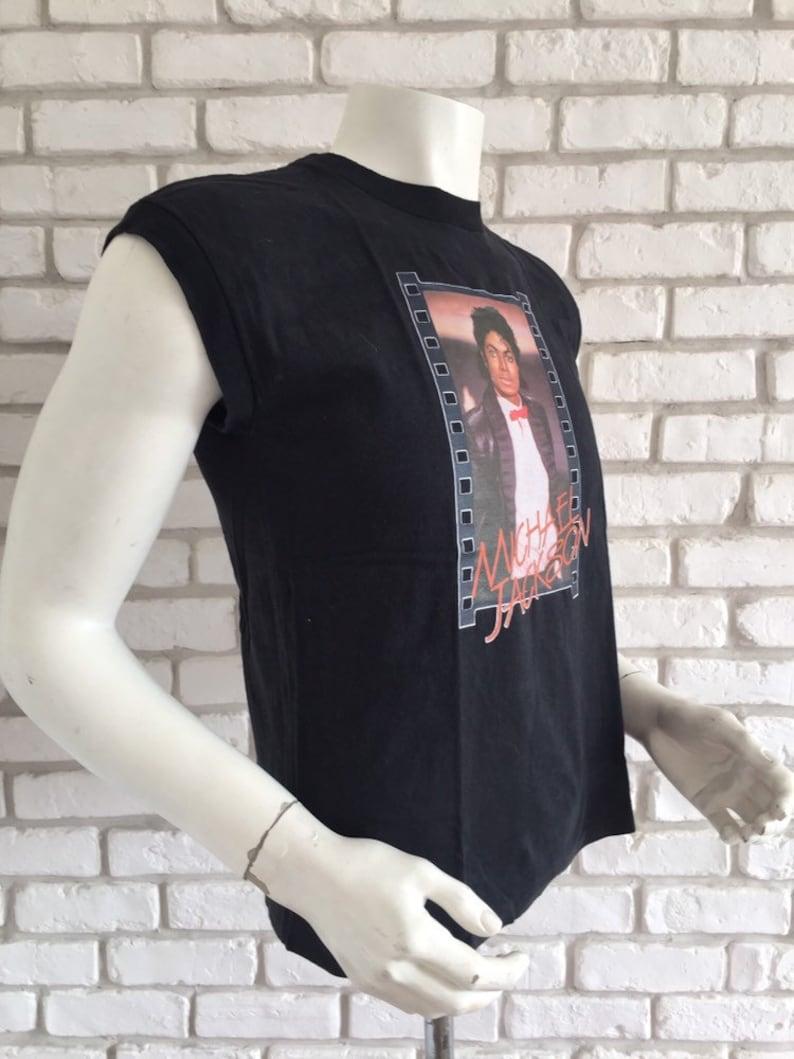 1984 vintage Michael Jackson Billie Jean Thriller tshirt