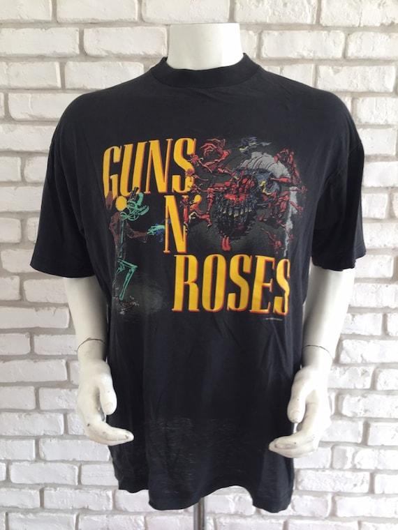 1987 vintage Guns N' Roses tour tshirt