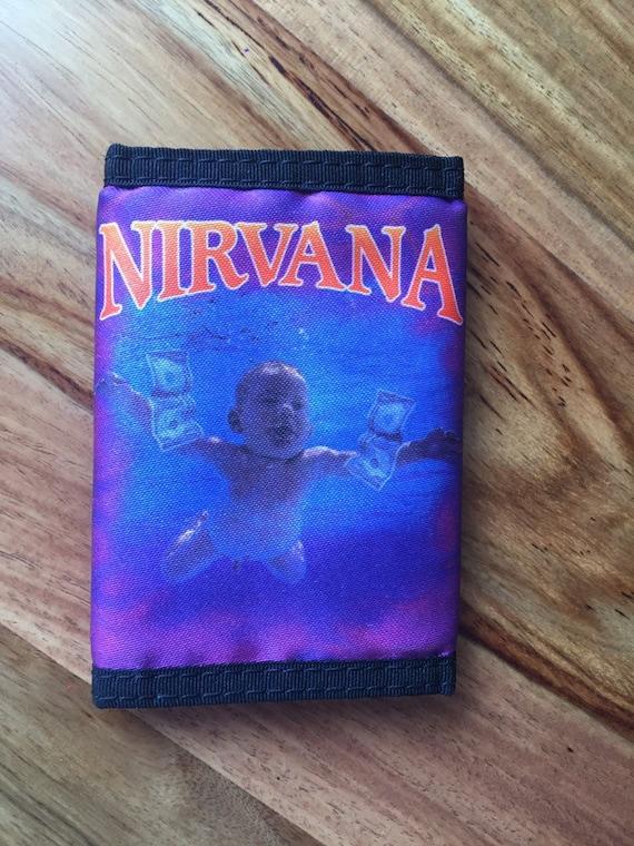90's vintage Nirvana wallet