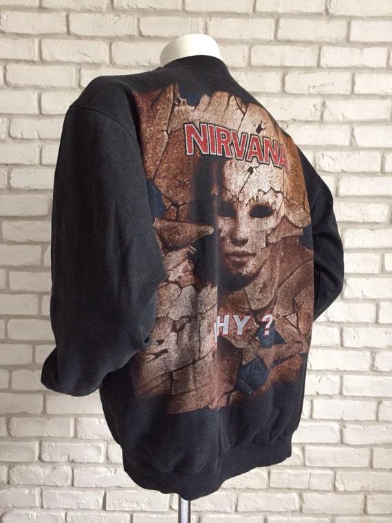 1994 rare vintage Nirvana sweatshirt - image 2