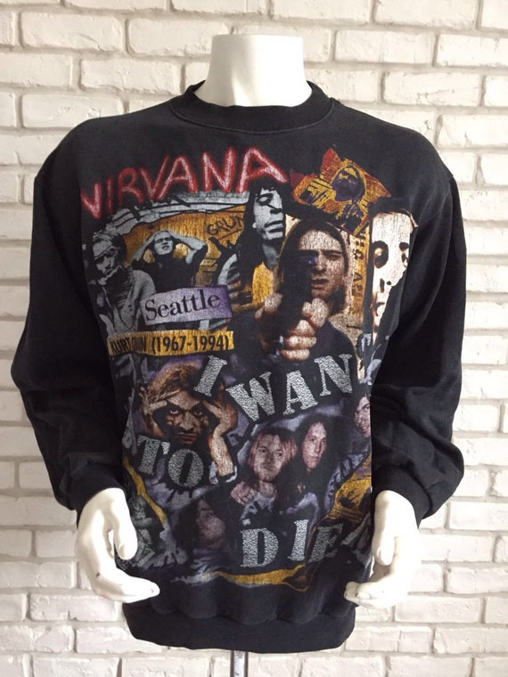 1994 rare vintage Nirvana sweatshirt
