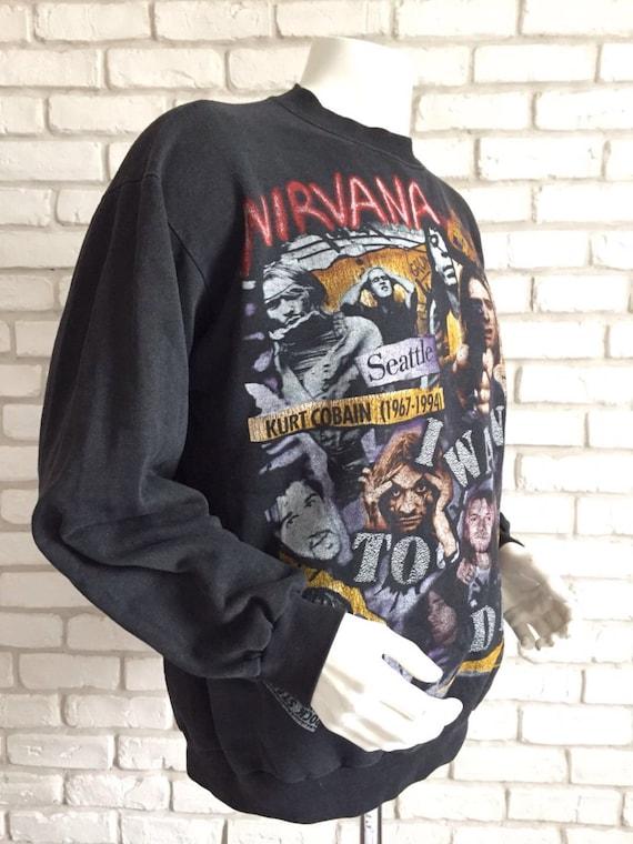 1994 rare vintage Nirvana sweatshirt - image 4