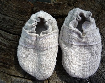Hemp baby shoes, toddler shoes, organic booties, baby moccasins, baby girl shoes, baby boy shoes, vegan baby boots, newborn moccasins