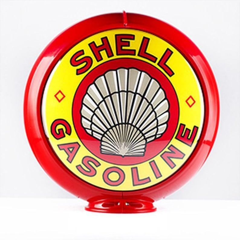 Shell Gasoline Gas Pump Globe 13 5