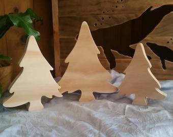 Set of 3 trees