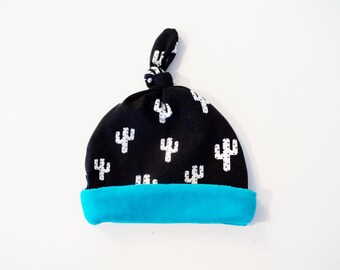 """Cactus"" cotton jersey baby Hat"
