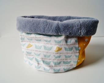 """snood baby and toddler fleece """"boats"""" white Choker"""