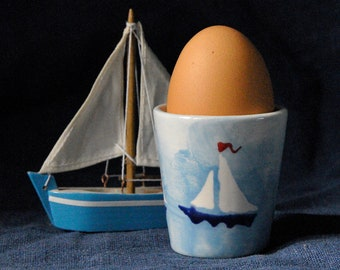 Boats Egg Cup