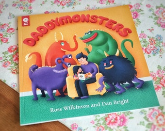 Daddymonsters – Christmas gift and funny children's book