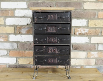 Industrial Furniture Uk - Chest of Drawers - Side Table - Home Decor Uk | Furniture in the UK | Industrial Furniture
