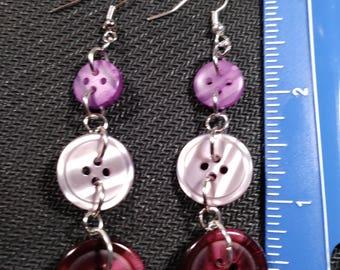 Vintage Purple Buttons