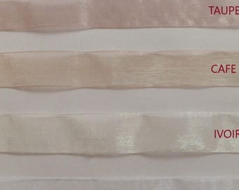 Organza Ribbon several colors