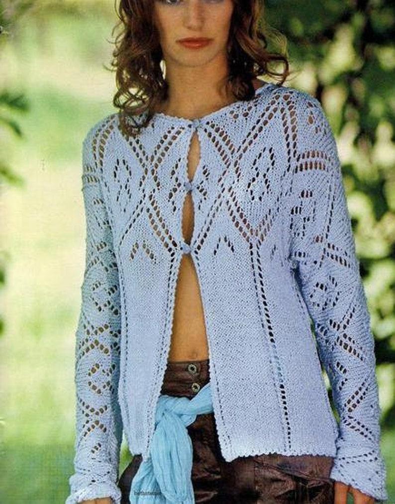 624837e5f Hand Knit women s coat aran Cotton cardigan Knitted