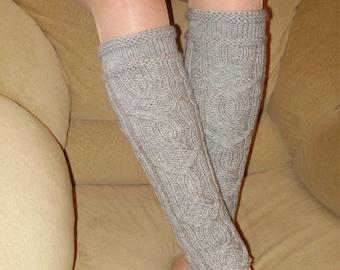 Knit leg warmers, Knitted socks for women, womens socks, Accessories