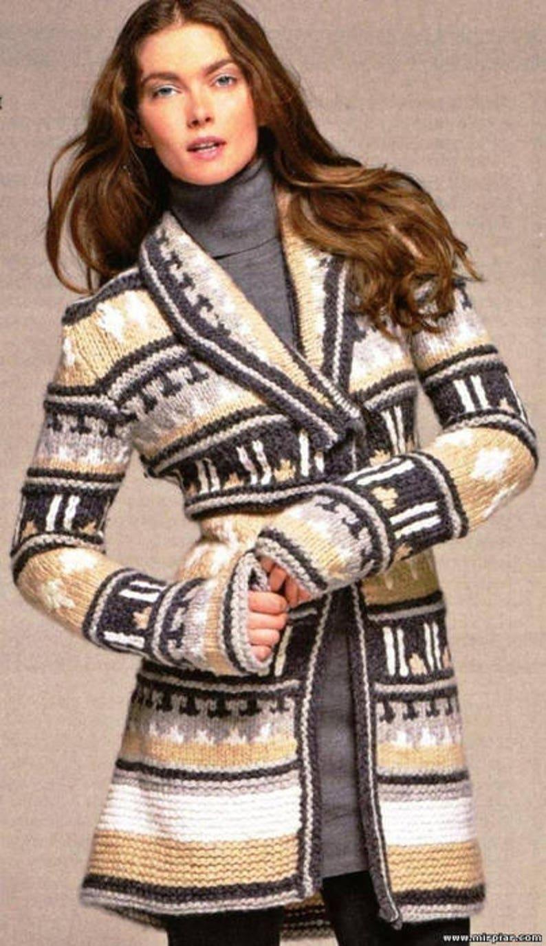489d57bc4 Hand Knit women s coat Women s jacket Women