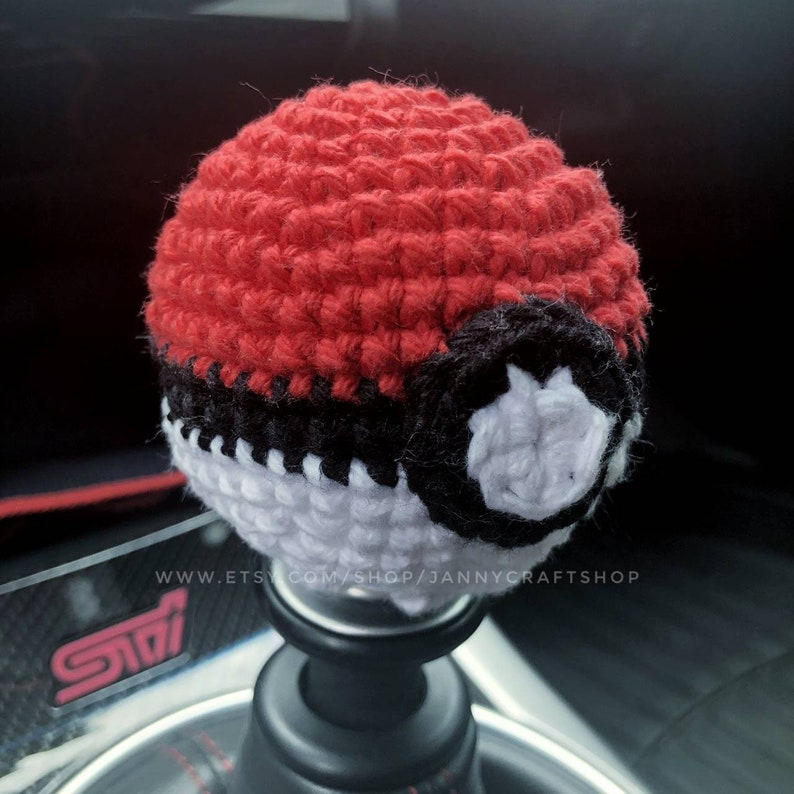 Shift knob cover shift knob cozy shift knob covers shifter Red