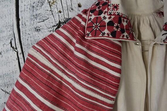 Vintage traditional Ukrainian embroidered shirt /… - image 6