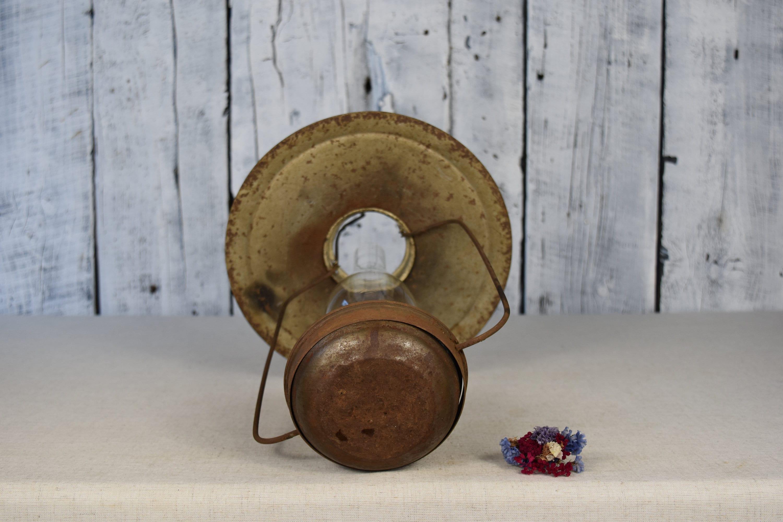 Lampada ad olio antica / lampada di kerosene / Lanterna ad