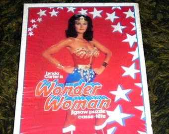 WONDER WOMAN PUZZLE (Red) Unopened 1978