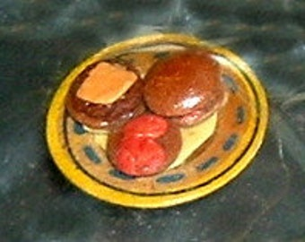 Miniature CHEESEBURGER PLATTER (Terry G.)