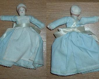 DOLLHOUSE DOLL Blue Dress