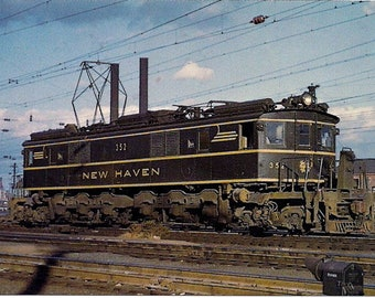 NEW HAVEN  352 (EP-3 Electric) - Post Card