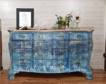 Denim and Summertime Romance Dresser