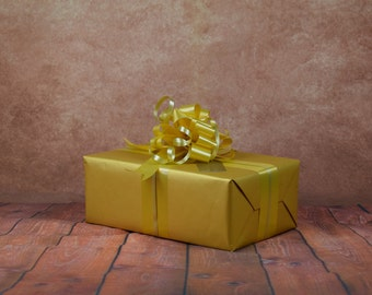 Classic Collection Gift Wrap Kit - Gold
