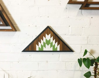 Triangle Wall Hanging - Green