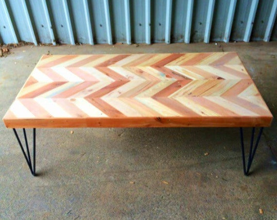 reclaimed wood table, coffee table, reclaimed wood coffee table, reclaimed wood desk, hairpin leg table, wood coffee table, small table