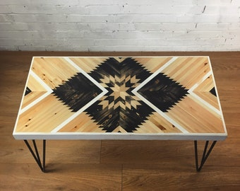 Coffee Table - Geometric Star