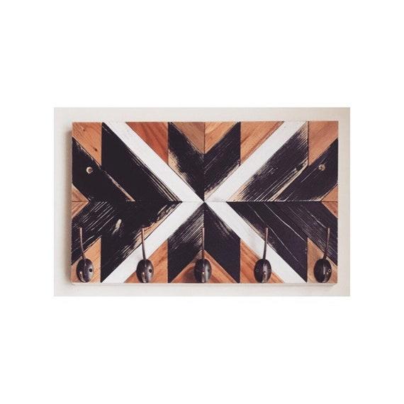 Shabby Hat Racks, Wood Wall Hooks Entryway, Rustic Wood Wall Hooks, Rustic Wood Coat Rack Hooks, Mounted Coat Hooks Rack, Wall Hat Rack
